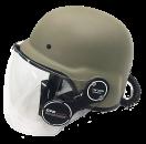GPR 디지털 헬멧Pistol전용 - 카키
